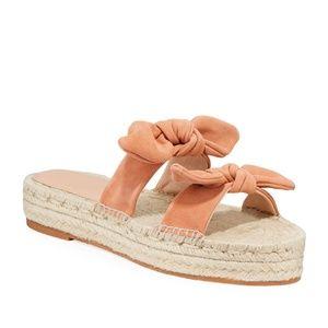 Loeffler Randall Daisy Suede Espadrille Sandals